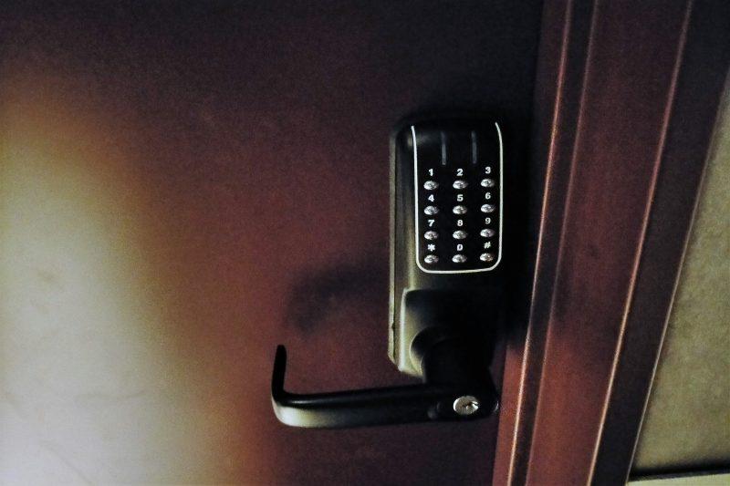 BUNSHODO HOTELの オートロック