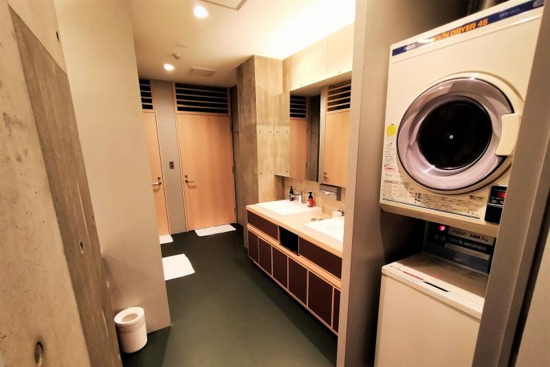 BUNSHODO HOTELのシャワールーム