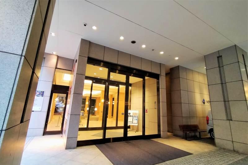 ホテルマイステイズプレミア札幌パークのエントランス
