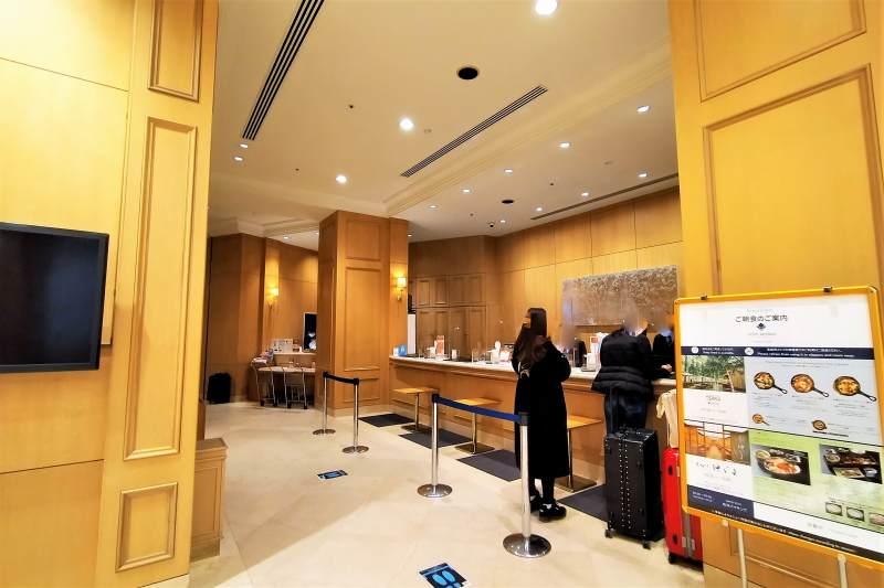 ホテルマイステイズプレミア札幌パークのフロント