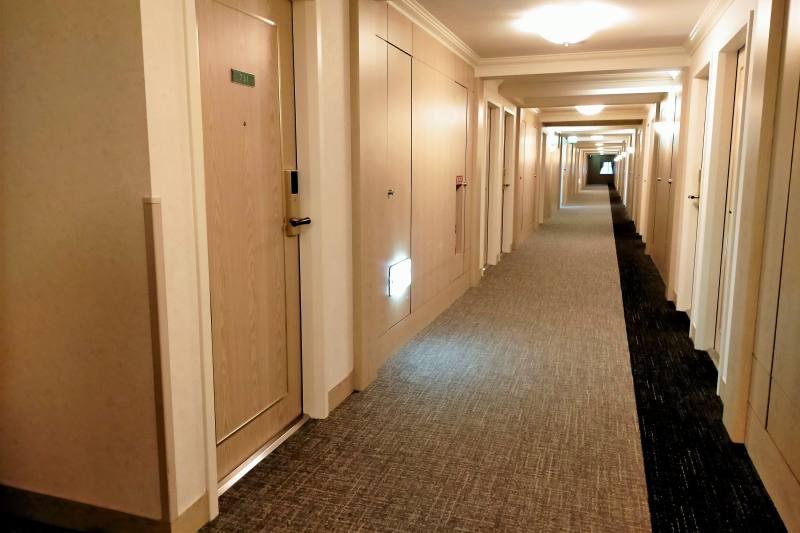 ホテルマイステイズプレミア札幌パークの廊下