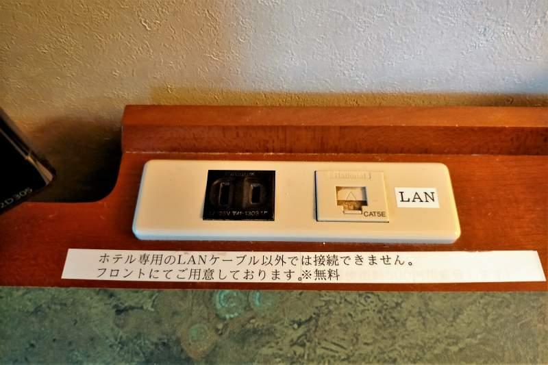 ホテルマイステイズプレミア札幌パークのデスク