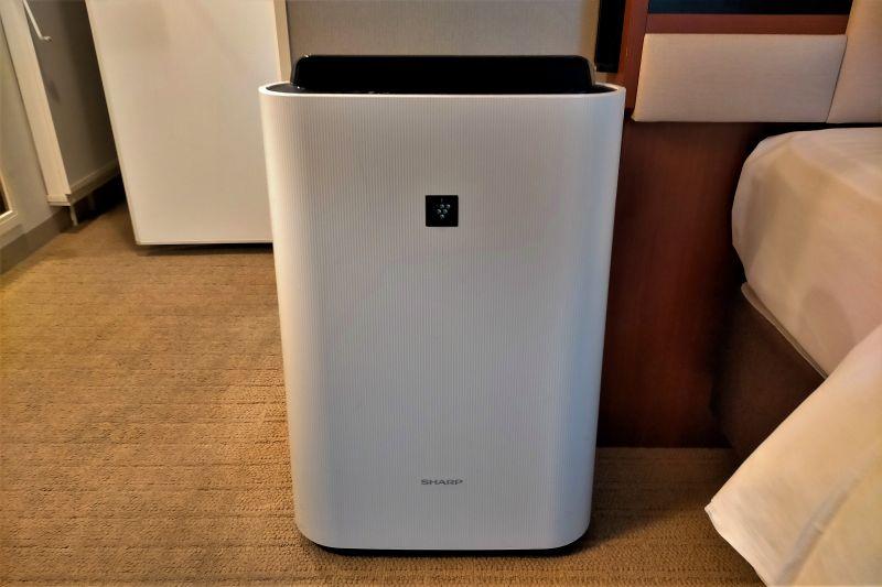 ホテルマイステイズプレミア札幌パークの空気清浄機