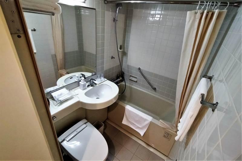 ホテルマイステイズプレミア札幌パークのトイレ