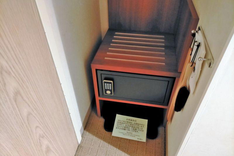 ホテルマイステイズプレミア札幌パークのセーフティボックス