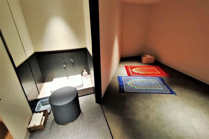 ホテルマイステイズプレミア札幌パークの礼拝室