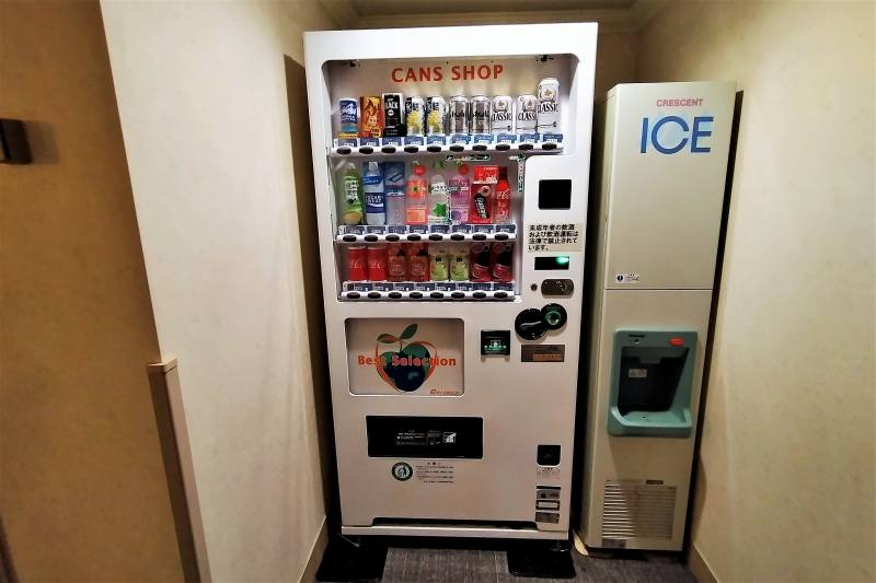 ホテルマイステイズプレミア札幌パークの自動販売機