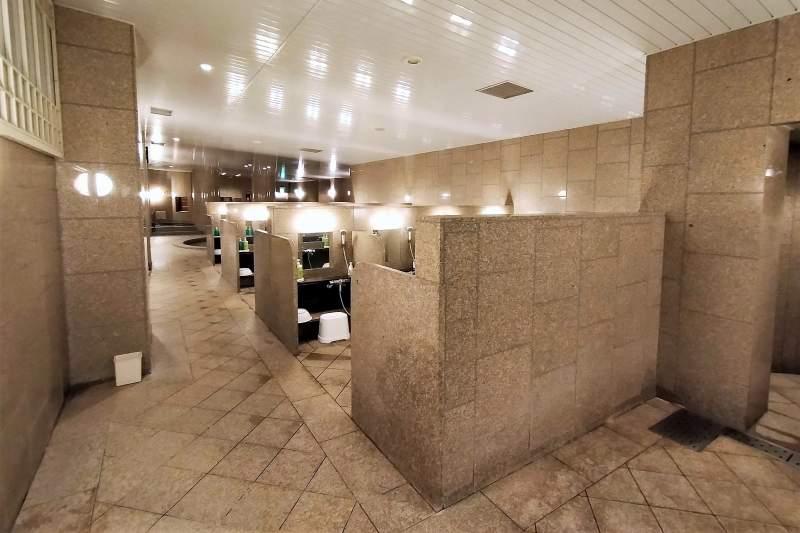 ホテルマイステイズプレミア札幌パークの大浴場