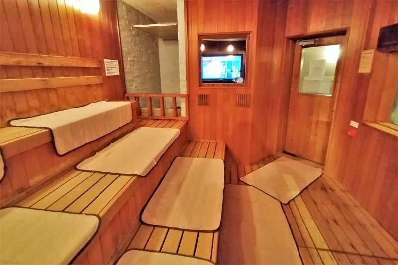 ホテルマイステイズプレミア札幌パークのサウナ