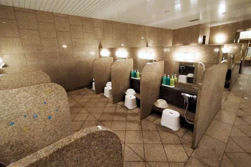 ホテルマイステイズプレミア札幌パークの洗い場