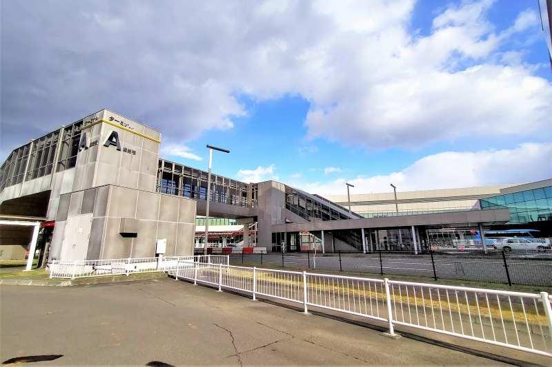 新千歳空港駐車場のA駐車場