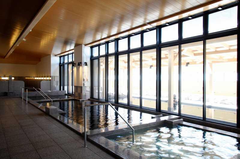 新千歳空港温泉の大浴場