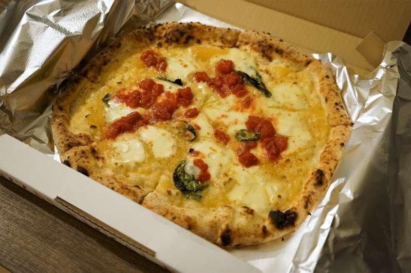イタリアンチルコのピザ