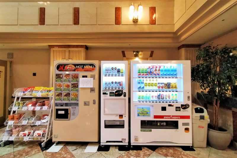 エアターミナルホテルの自動販売機