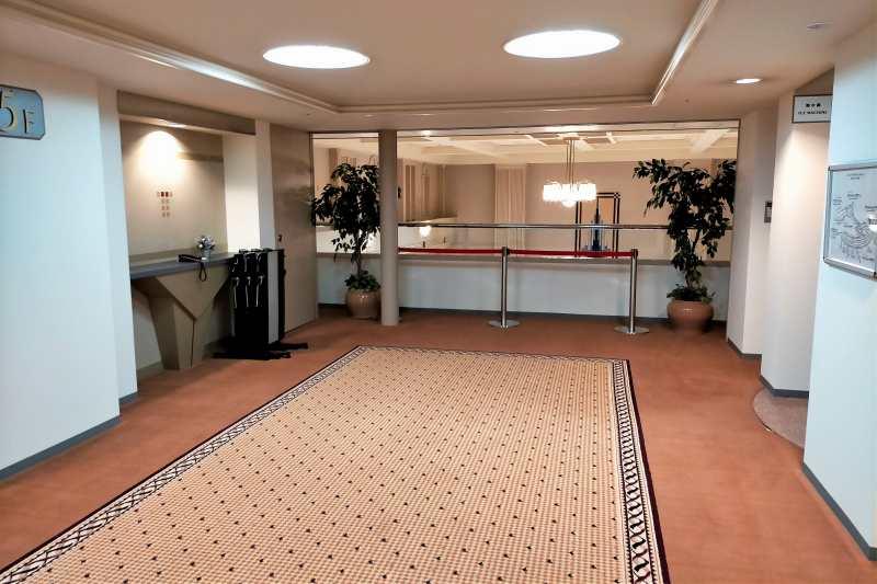 エアターミナルホテルのエレベーターホール