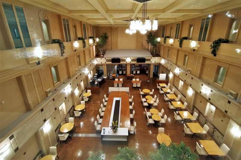 エアターミナルホテルのレストラン