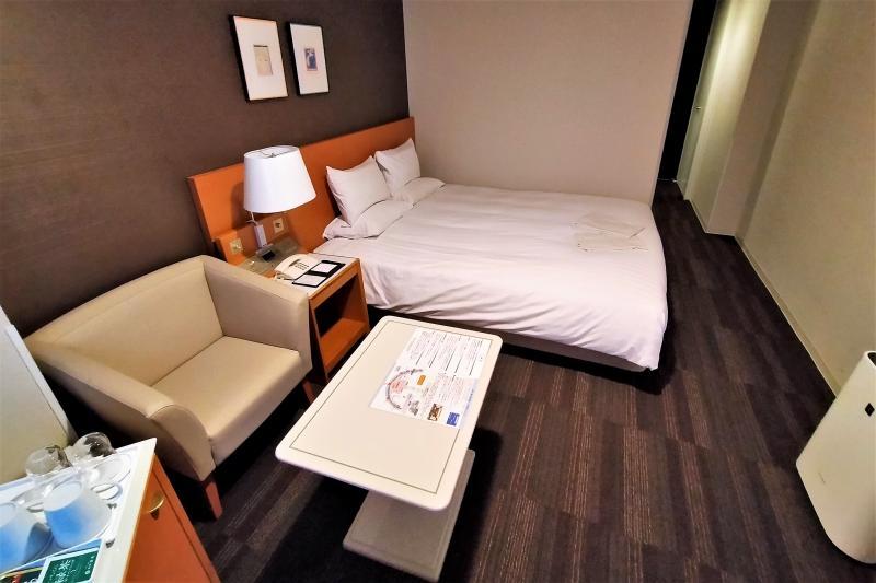 エアターミナルホテルの客室