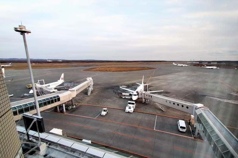 エアターミナルホテルからの景色