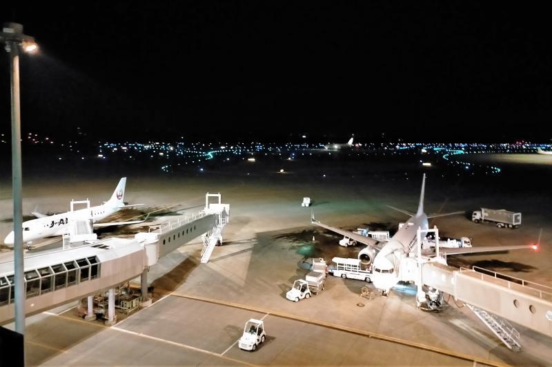 エアターミナルホテルの窓からの景色