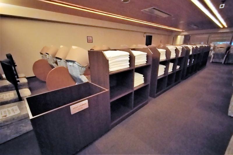 新千歳空港温泉の女性専用リラックスルーム