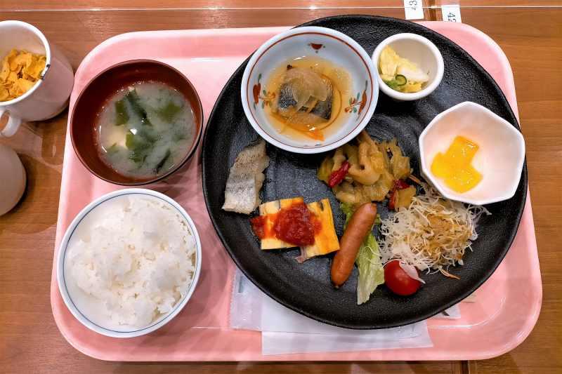エアターミナルホテルの朝食