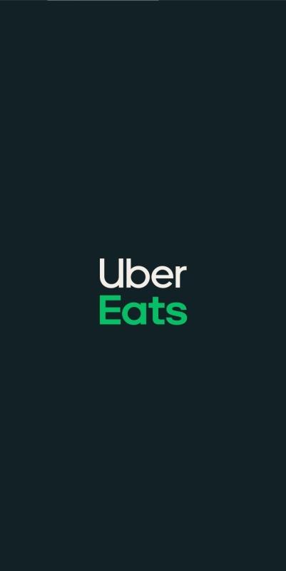 Uber Eats(ウーバーイーツ)アプリ起動画面