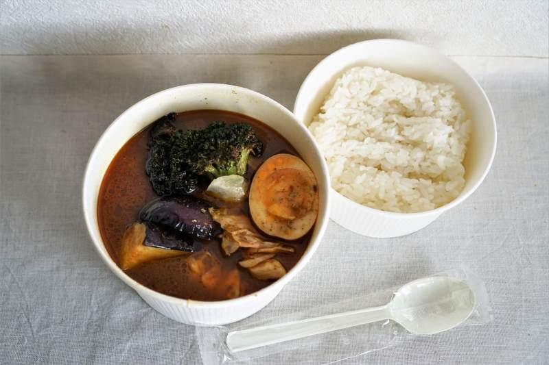 スープカレー34 チキン野菜カレー