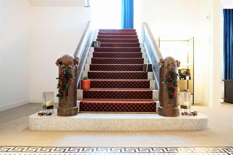 アンワインドホテル小樽 階段