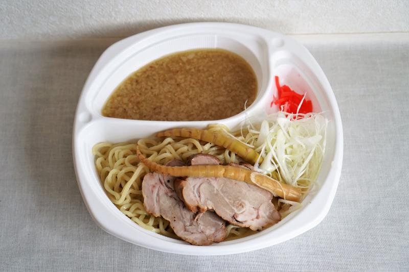 麵屋有頂天の濃厚魚介豚骨つけ麺(デリバリー)