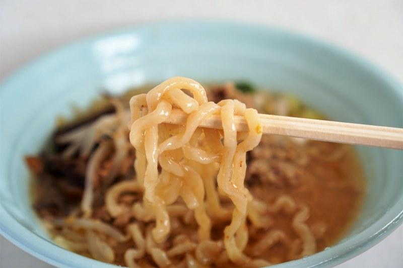 札幌つけ麺風棶堂の味噌ラーメン(デリバリー)