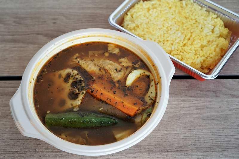 札幌ドミニカのスープカレー