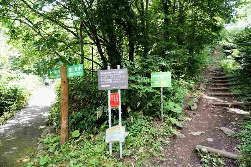 自然学習道の入口