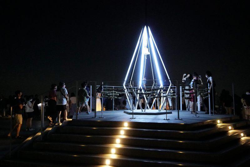 夜の藻岩山展望台
