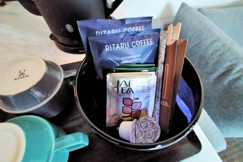 アンワインドホテル小樽 コーヒー