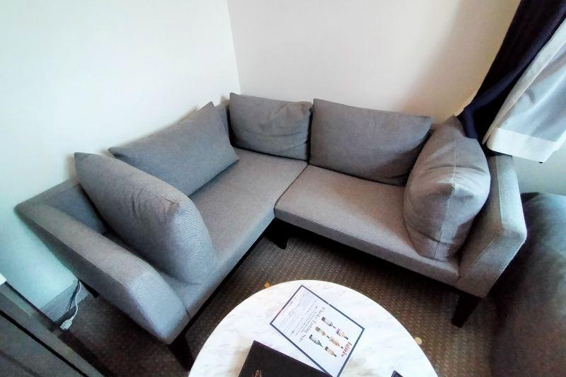 アンワインドホテル小樽 ソファー