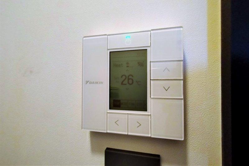 アンワインドホテル小樽 エアコン