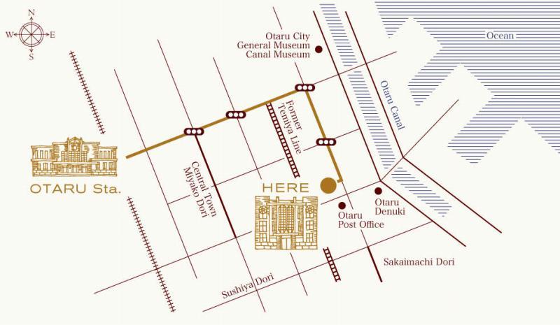 アンワインドホテル小樽 MAP