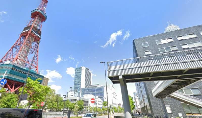 テレビ塔 東側の歩道橋