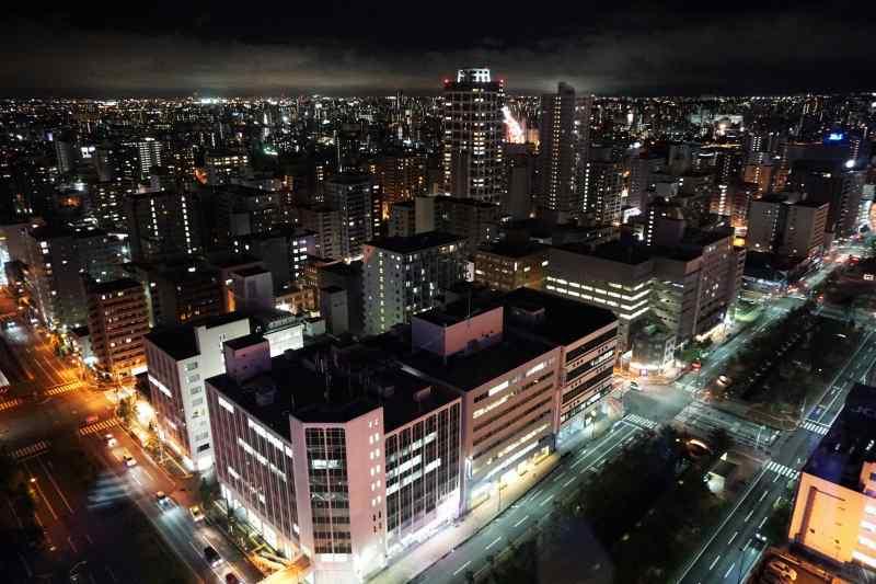 テレビ塔からみた 南側の夜景