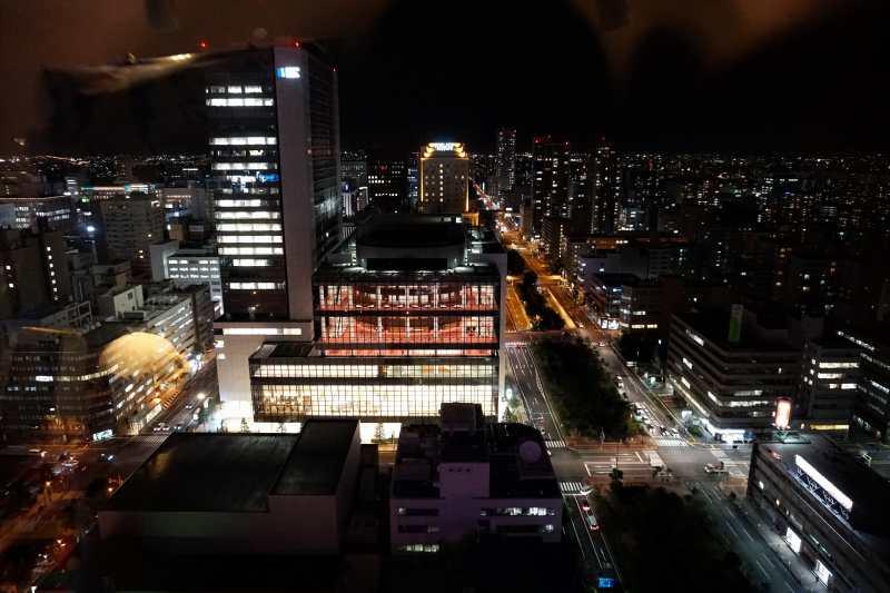 テレビ塔からみた 北側の夜景