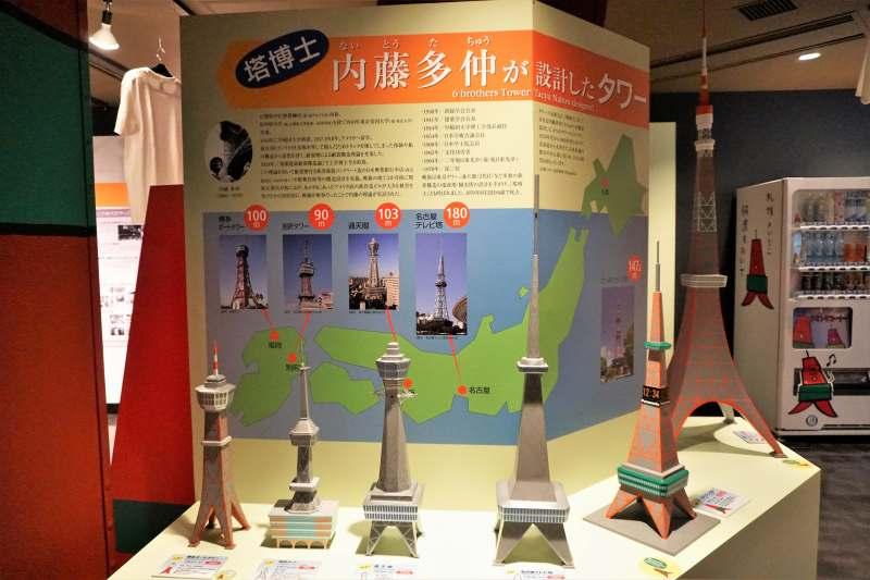 内藤多仲が設計したタワーの数々