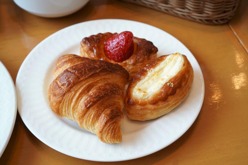 森のスパリゾート北海道ホテル 朝食パン
