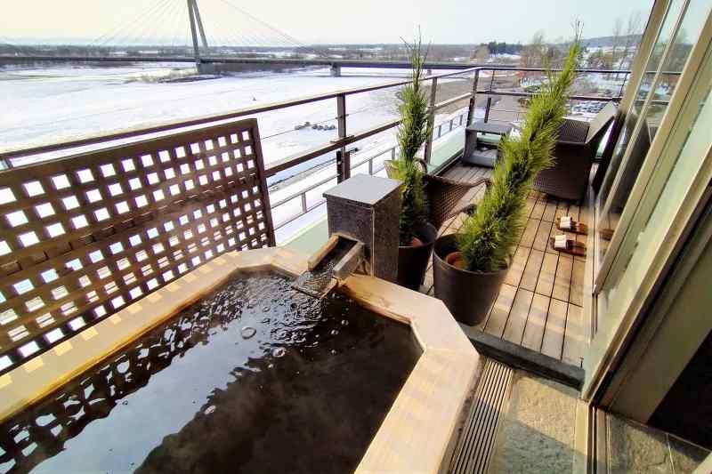 十勝川温泉第一ホテル 豊州亭 ベランダ