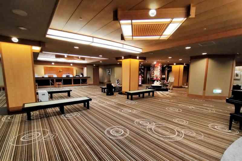 十勝川温泉第一ホテル ロビー