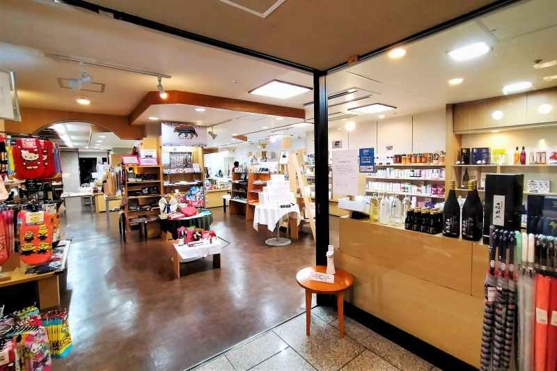 十勝川温泉第一ホテル 売店