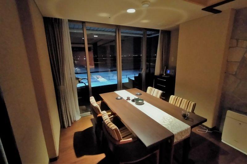 十勝川温泉第一ホテル 豊州亭 夜の室内