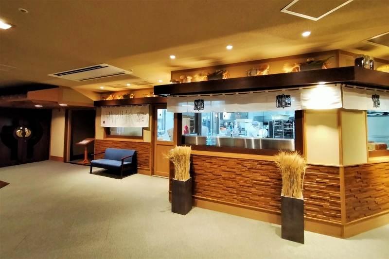十勝川温泉第一ホテル パン工房