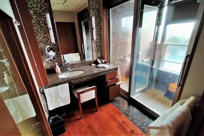 森のスパリゾート北海道ホテル 洗面所