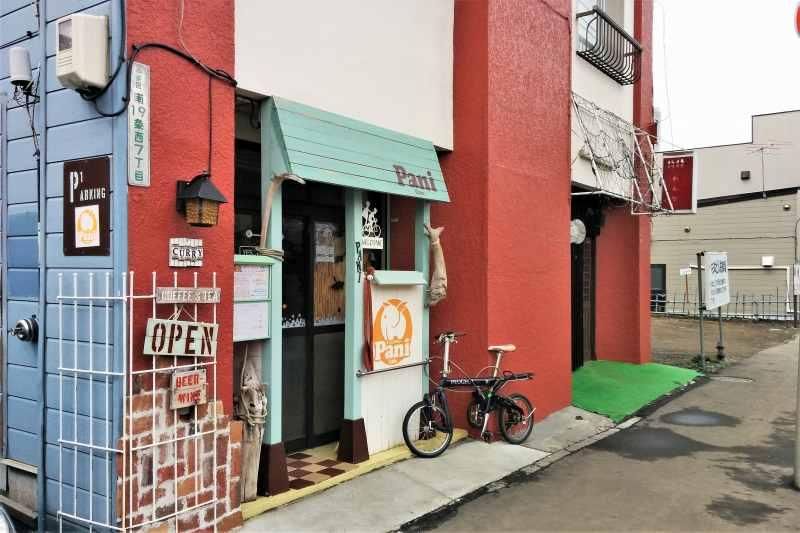 Pani Cafe 店舗外観