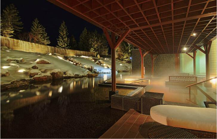 十勝川温泉第一ホテル 露天風呂